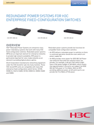 H3C S5100-24P-EI 0235A08K Data Sheet