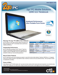 CTL qw6 User Guide