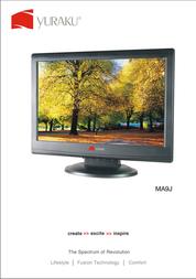 "Yuraku MA9J LCD Monitor 19"" LCM-YUR-01002 Leaflet"
