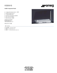 Smeg KSEI61S Leaflet