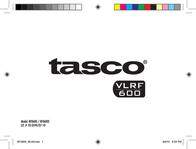 Tasco ENTFERNUNGSMESSER VLRF 600 RF0600 Data Sheet