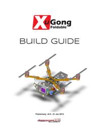 Immersion Rc Quadcopter Kit XUGONG10KIT Data Sheet