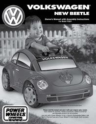 Volkswagen NEW BEETLE P5921 User Manual