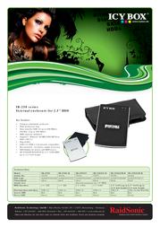 Raidsonic IB-250StUE-B IB-250STUE-B Leaflet
