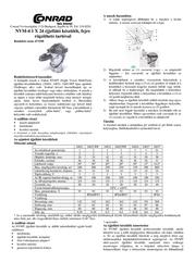 Yukon NVMT 1x24 Night Vision Scope With Head Mount Kit 18-24025 Leaflet