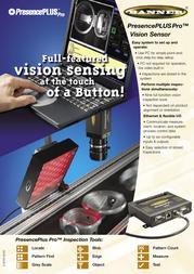 Banner Vision Sensor IP68 Leaflet