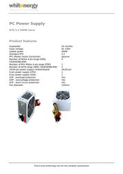 Whitenergy 05753 Leaflet