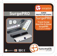 Tuncmatik SurgePro 5-gang SURGEPRO5-306-1 User Manual