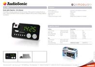 AudioSonic CL-1484 Leaflet