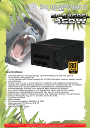Silver Power SP-S460FL 13544 Leaflet