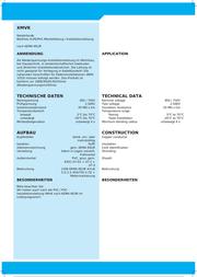 Xbk Kabel Grey 40021306 Data Sheet