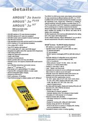 Argus 3u Plus 100300 User Manual
