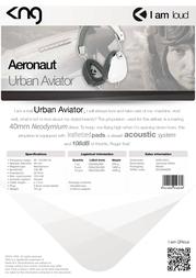 KNG Aeronaut KNG-5010 Leaflet