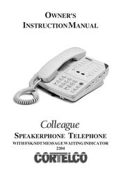 Cortelco Colleague 2204 User Manual