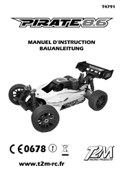 T2m 1:8 RC model car Nitro Buggy 4 T4791L User Manual
