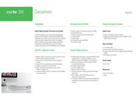 Elgato EyeTv 310 EG/EYE310 Data Sheet