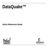Pogo DataQuake Quick Setup Guide