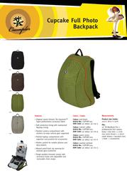 Crumpler CUPFBP-004 Leaflet