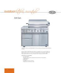 DCS Grill Cart CAD-48 Leaflet