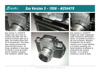 Exakta EXA3 Leaflet