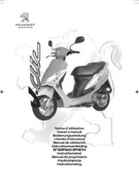 Peugeot v-clic Owner's Manual