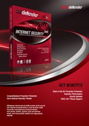 SOFTWIN BitDefender Internet Security 2008, DE, 3 Users, 1 Year LB11031003-DE Leaflet