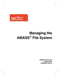ADIC Time Clock 6-00028-01 Rev A User Manual