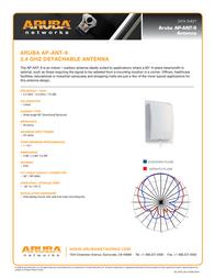 Aruba AP-ANT-9 Data Sheet