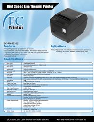 EC Line EC-PM-80320 EC-PM-80320-P Leaflet