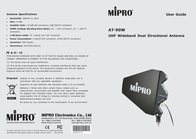 MIPRO AT-90W AT 90W Leaflet