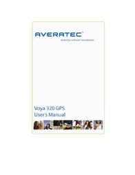 Averatec Voya 320 GPS User Manual