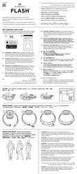 Misfit Flash Instruction Manual