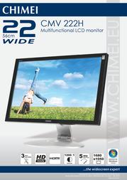 Chimei CMV-222H LCD monitor CMV-222H Leaflet