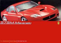 Ferrari 575M User Manual