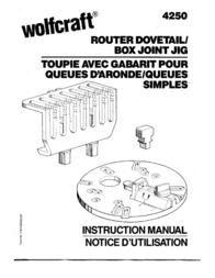 Wolfcraft 4250 用户手册