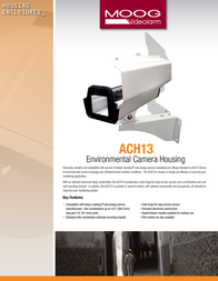 Moog Videolarm ACH13HB12N Leaflet