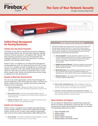WatchGuard Firebox X700 to Firebox X1000 Model Upgrade WG017088 Leaflet