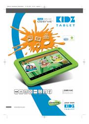 dServe Kidz DSRV K4C Leaflet