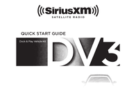 SiriusXM SXDV3 Car Kit Owner's Manual