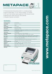 Metapace L-1 META-L1 Leaflet