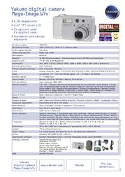 Yakumo mega-image 67x Specification Guide