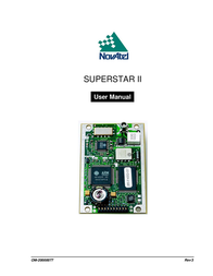Novatel SUPERSTAR II OM-20000077 User Manual