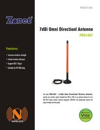 Zonet ZWA1007 Leaflet