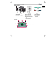 Trust 7.1 Home Theatre System 8110B 14192 User Manual