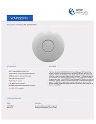 Amer Networks WAP223NC 전단