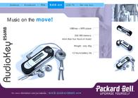 Packard Bell AudioKey 2 256MB A000055300 Leaflet