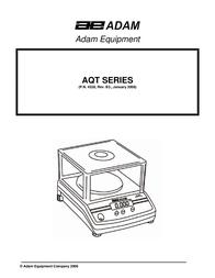 Adams Building Set AQT SERIES User Manual