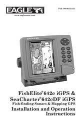Eagle 642c df igps Operating Guide