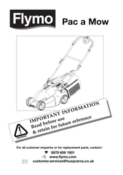 Flymo Pac A Mow User Manual