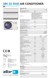 Zibro SM 33 Duo SM3325 Leaflet